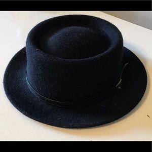 100% Wool Porkpie Hat